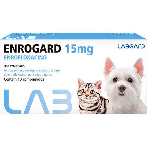 Enrogard 15mg Antimicrobiano Para Cães e Gatos até 5 Kg