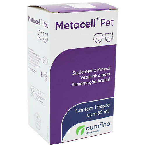 Suplemento Metacell Pet 50ml - Ouro Fino