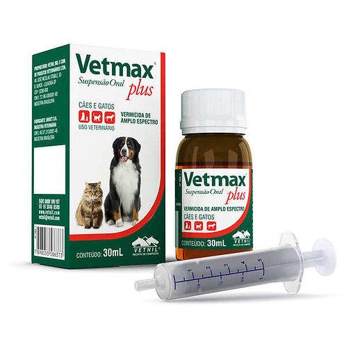 Vetmax Plus Suspensão 30ml