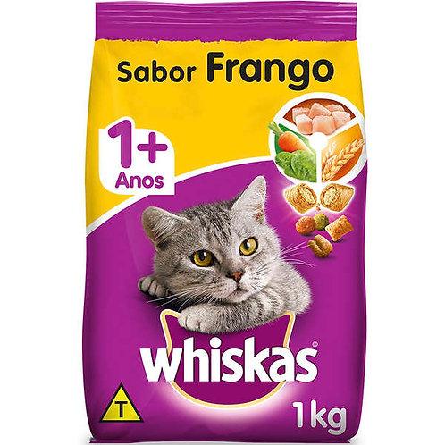 Whiskas Gatos Adultos Frango 1kg