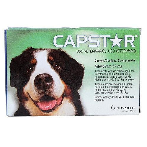 Capstar 57mg para Cães de 11kg a 57kg com 1 Comprimido