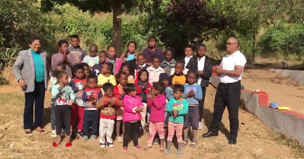 Die Kinder des Kinderheims 2020