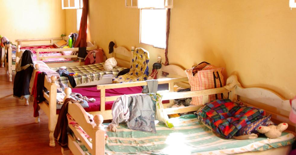 Schlafsaal der Mädchen