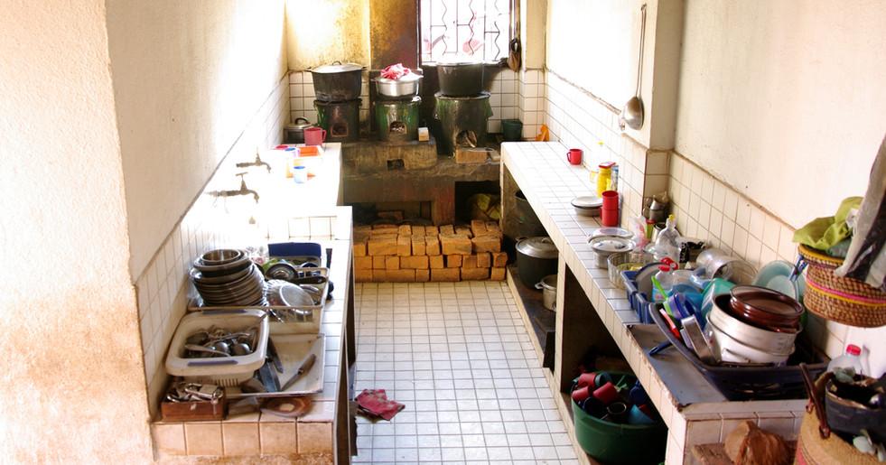 Küche im Kinderheim
