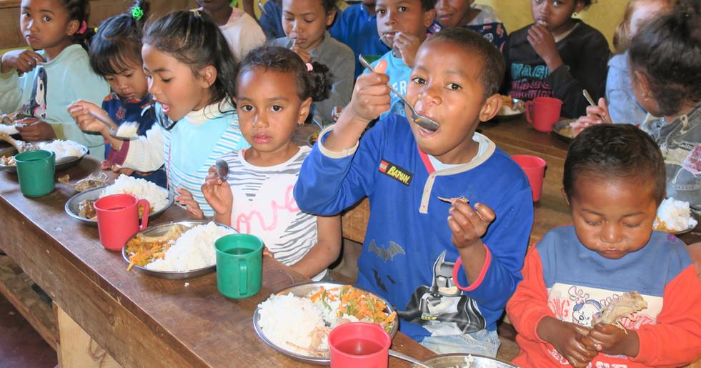 Mittagessen für die Kleinsten