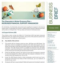 The Chancellor's Winter Economy Plan