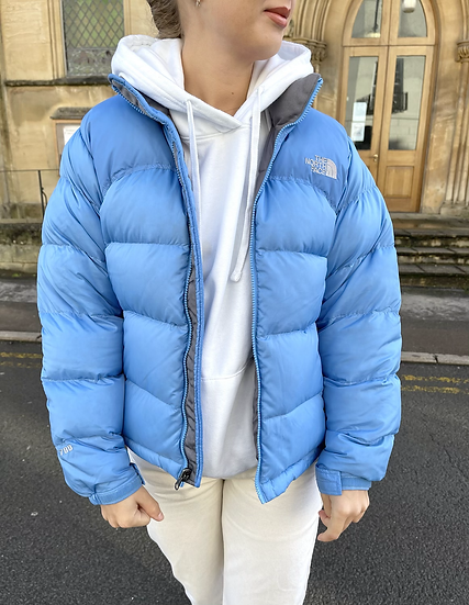 BABY BLUE TNF NUPTSE 700 (WOMENS S)