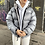 Thumbnail: RARE LIGHT GREY TNF 700 NUPTSE (WOMENS MEDIUM) **READ DESC.**