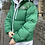 Thumbnail: LIGHT FOREST GREEN TNF NUPTSE 700 WITH REAR CENTRE LOGO (MENS S // WOMENS M)
