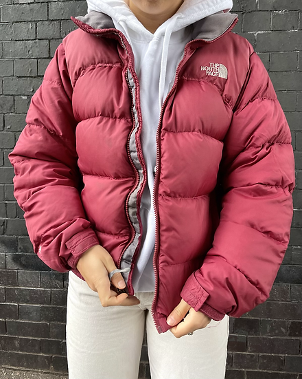 WINE RED / LIGHT BURGUNDY TNF NUPTSE 700