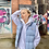 Thumbnail: BABY BLUE NORTH FACE 700 GILLET (WOMENS S)