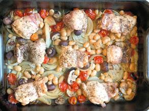 Meal express - Chicken & Mushroom traybake