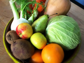February cooking session - Make the most of seasonal Fruit & Veg
