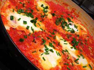 Recipe - Paprika Tomato and Egg Hotpot