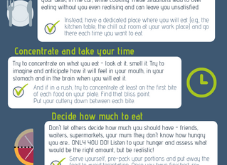 A few tips to mindful eating