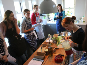 March Cooking Session - The Perfect Easter Lunch