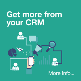 Get more from your CRM