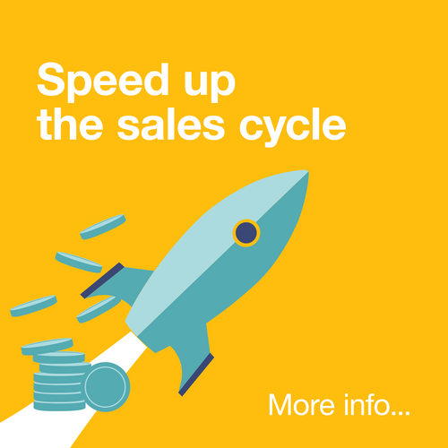 Speed up the sales cycle