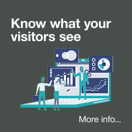 Know what your visitors see