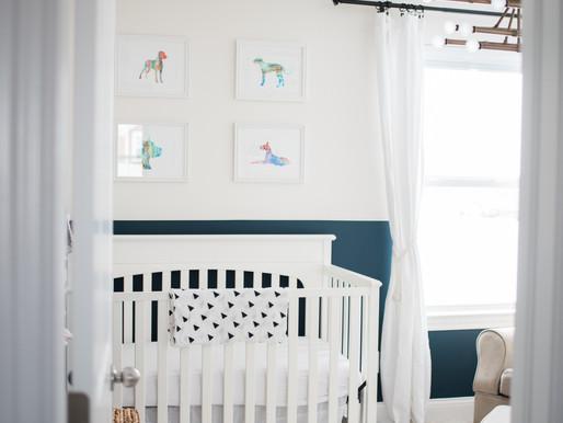 Baby Girl Lifestyle In-Home Newborn Photography | Columbus, Ohio