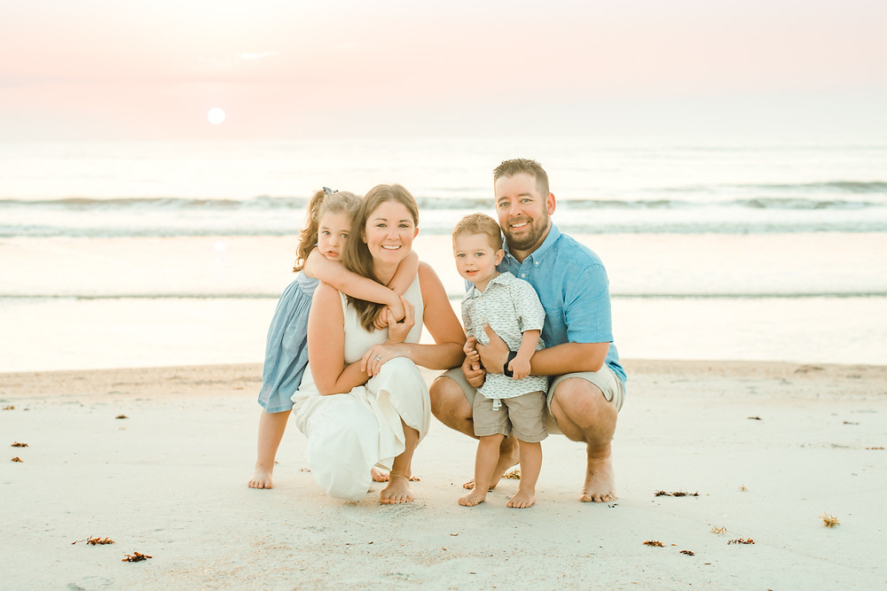 Ponte Vedra, Jacksonville, Nocatee, St Augustine  - Colleen Lindhurst Photography - sunrise beach family photos-1