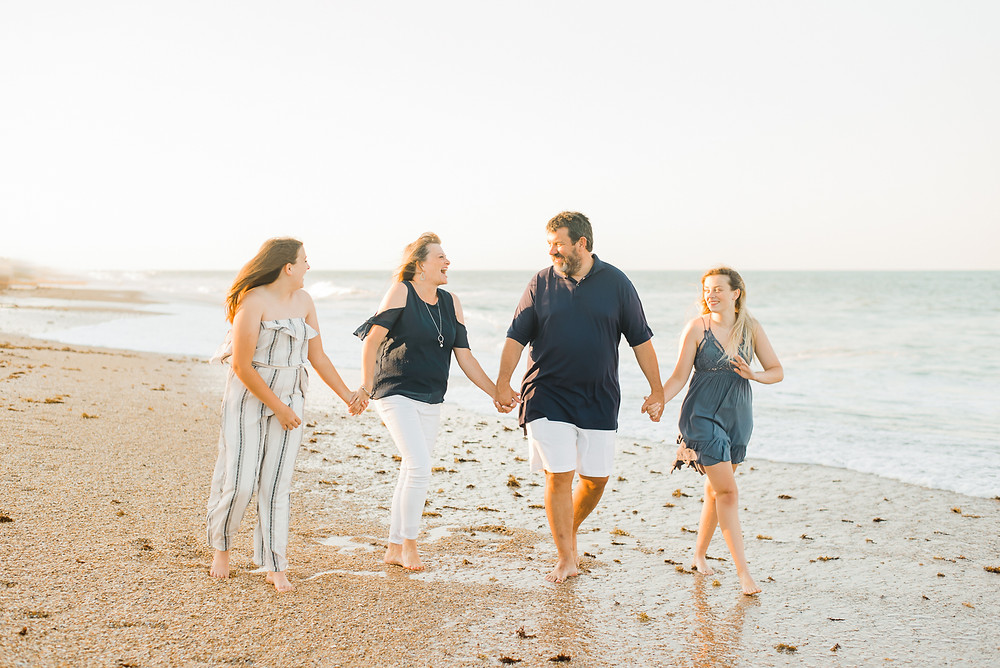 sunset beach family photographer | ponte vedra, jacksonville, nocatee, st augustine florida | colleen lindhurst photography