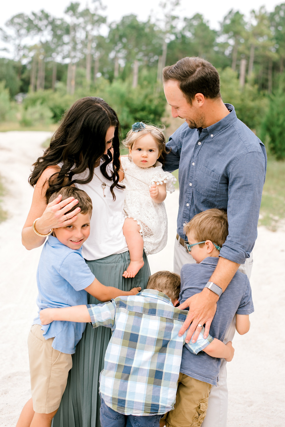 colleen lindhurst photography | family of 6 wooded| nocatee jacksonville st augustine jacksonville florida | family photographer
