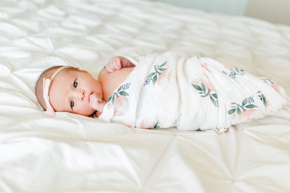 In-home and beach lifestyle newborn photographer | Ponte Vedra, Nocatee, Jacksonville, St Augustine, Florida