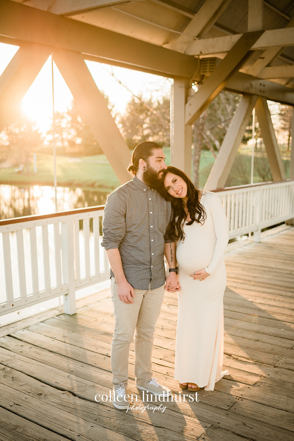 maternity photography outdoor | columbus ohio photographer | colleen lindhurst photography