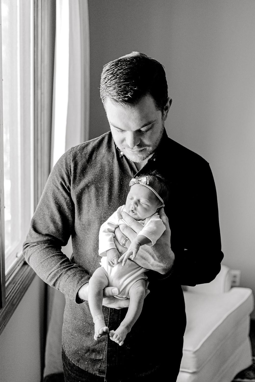 Ponte Vedra, Jacksonville, Nocatee, St Augustine Lifestyle In-home newborn photographer - Colleen Lindhurst Photography - christmas big sister newborn photos