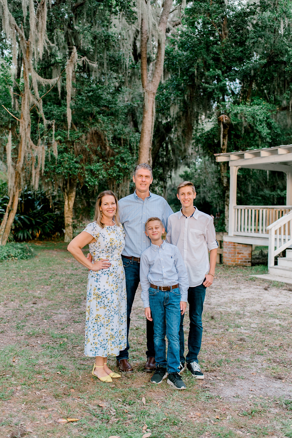 Family Photography at Alpine Groves Park | Colleen Lindhurst Photography - maternity, newborn, and family photographer | Jacksonville, St. Augustine, Nocatee, and Ponte Vedra Photographer