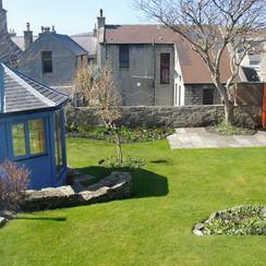 7a Hillside back garden