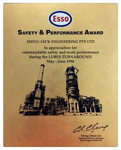 EM Safety & Performance Award