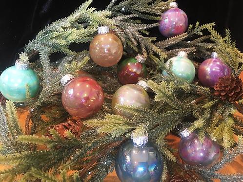 Assorted Glass Mini Glass Ornaments