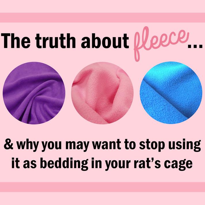 Fleece: Not the Best Bedding After All
