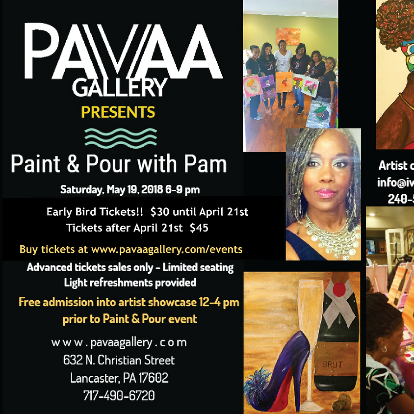 Paint & Pour with Pam