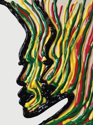 Print: Color Lines (Unframed)