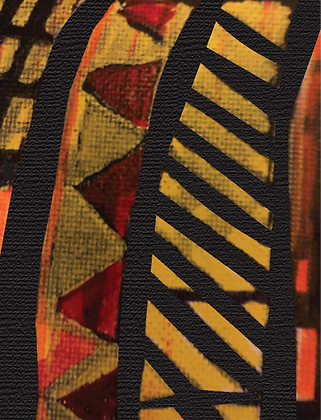 Print: African Abstract #3 (Unframed)