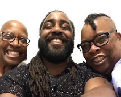 The Partners of PAVAA: Marion CoCo Coleman, Tyrell Hoff, Gerri McCritty
