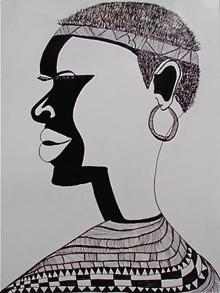 Print: Makita (Unframed)