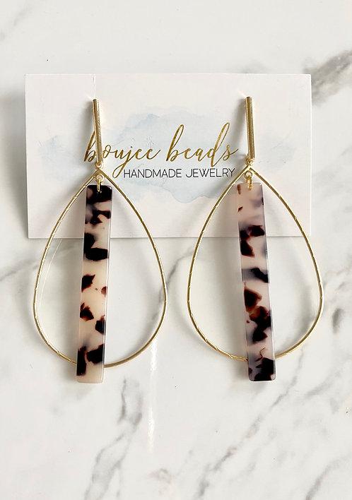 New Maddie Oval Hoop Earrings