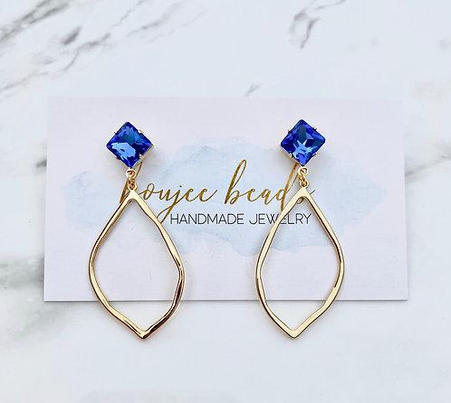 Cobalt Ava Earrings
