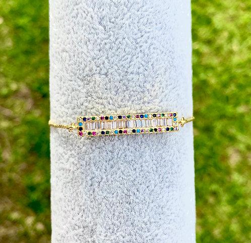 Multicolor Bar Bracelet