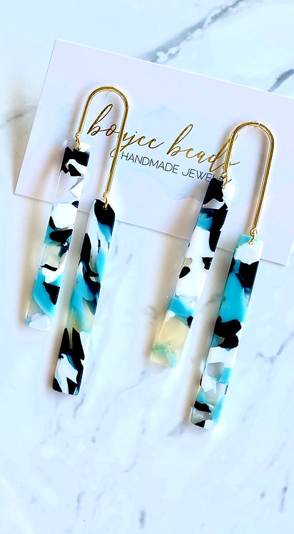 Maddie Double Stick Earrings