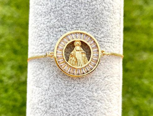 Miraculous Mary Bracelet - Gold