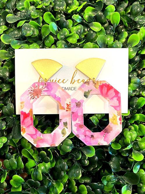 Summer Floral Earrings