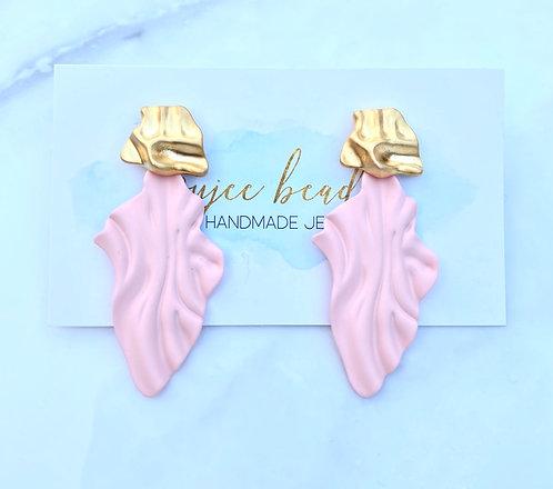 Blush Wave Earrings