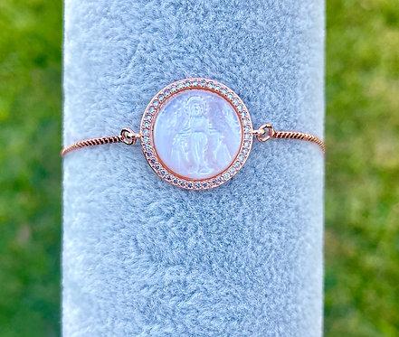 Mother of Pearl Adjustable Bracelet