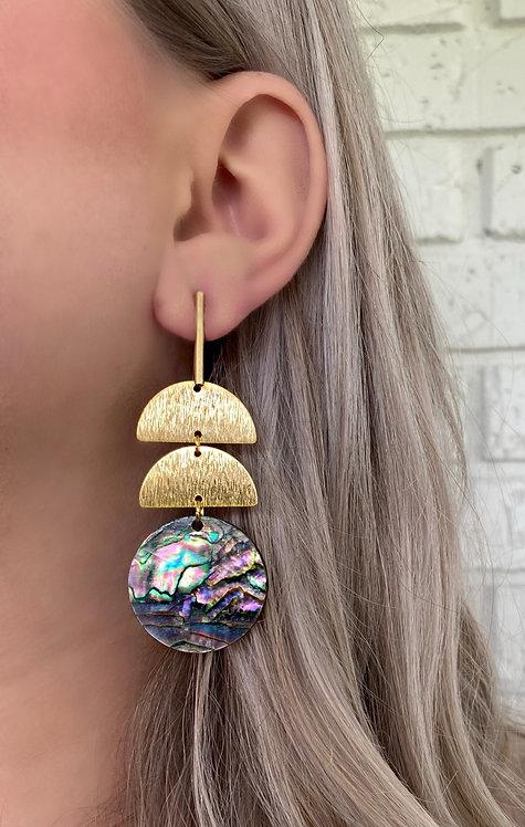 Abalone Shell Dana Drop Earrings