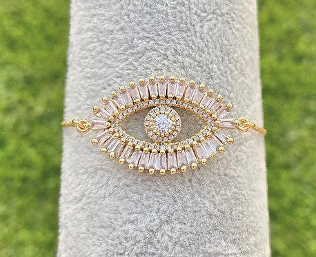 Pavè Eye Bracelet